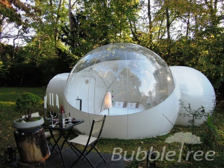 Bubble Tents are designed to last 4 to 5 years of regular use.