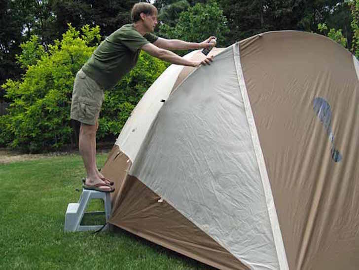 Waterproofing a tent & How To Waterproof Your Tent With A Silicone Based Product