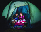 This Inflatable Solar Powered Camping Lantern Takes Up Almost Zero Space
