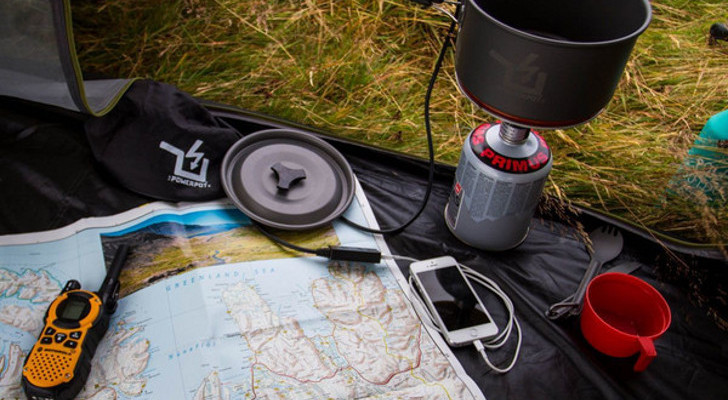 Thermoelectric Generator Gadgets Keep You Fed And Charged On The Trail