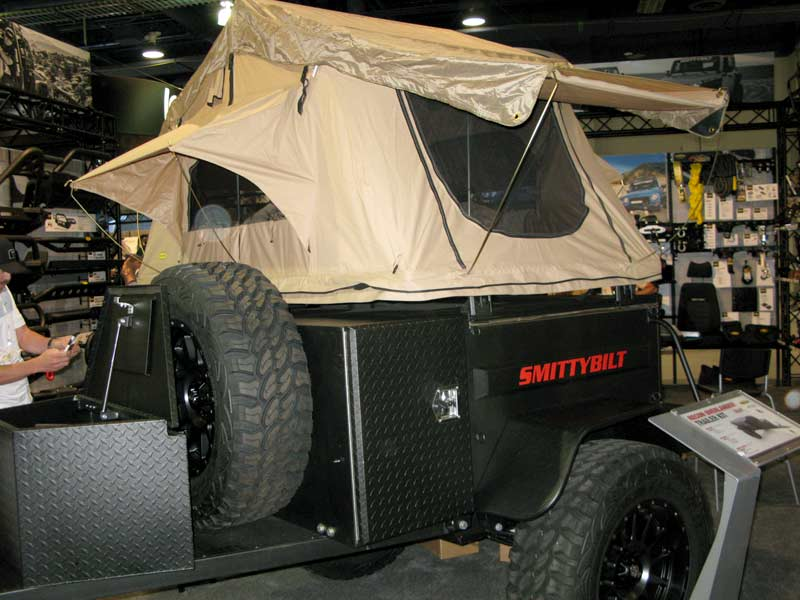 Smittybilt Recon Overlander Trailer Camper For Backcountry Camping