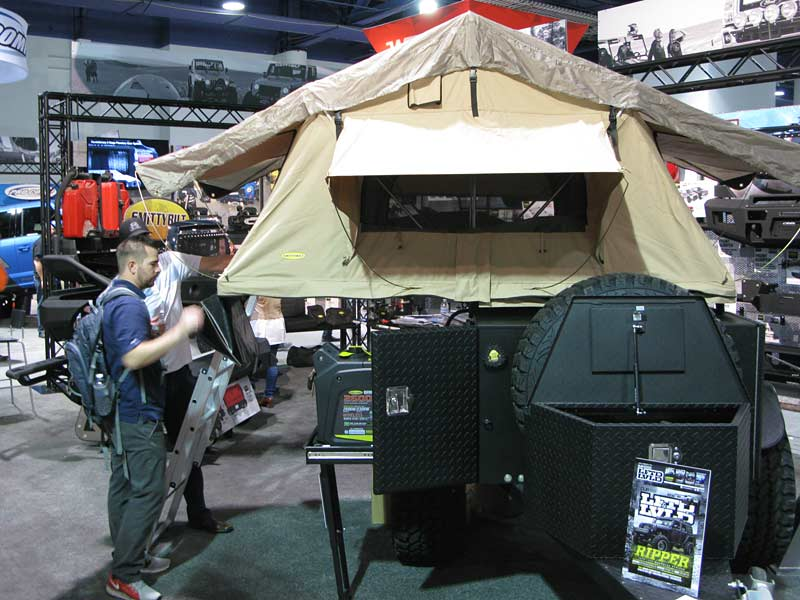 Smittybilt Recon Overlander Trailer Camper For Backcountry